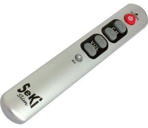 Seki Slim Télécommande Universelle équipée d'une Fonction d'apprentissage (Argent) (Import Allemagne)