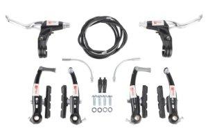 Système de freinage V-Brake Alu Noir Complet