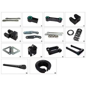 TECNIUM – Kit De Rabaissement De Selle Construction 1 Compatible Kawasaki Z 800 ABS 13-16