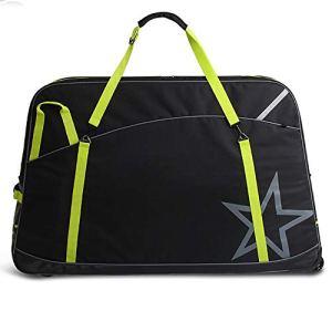 Vélo sac de rangement Vélo de montagne Sac bagages adapté à différents styles tels que la montagne vélos et route Sac de rangement (Color : Black)