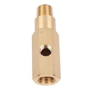 Yctze Adaptateur de jauge de pression d'huile, laiton 1/4 NPT T Sender Fit pour BA BF FG – 4.0 et V8