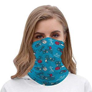 Yolocal Bandanas de vélo sans couture pour le visage, la poussière, l'extérieur, le camping, la course à pied