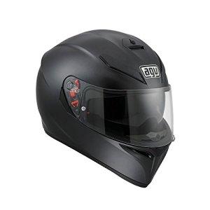 AGV Helmets K-3 Sv E2205 Solid Plk Matt Noir, ML