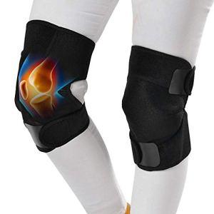 Genouillère de sport, protection des genouillères, auto-échauffement, maintien au chaud, genouillère, thérapie par aimant, compresse chaude, soutien du genou(ONE SIZE)