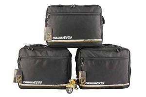 made4bikers Compatible avec Les modèles BMW R1250GS R1250 GS K50 à partir de 2018: Poches intérieures/Sacs intérieurs pour valises latérales – Ensemble Complet