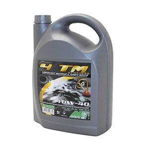 MINERVA OIL HUILE MOTEUR 4 TEMPS MINERVA MAXISCOOTER-MOTO 4TM SYNTHESE 10W40 (5L) (100% MADE IN FRANCE)