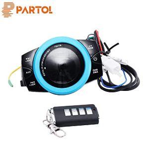 Partol Audio légère intelligente FM Moto Système antivol Radio Audio stéréo FM étanche/TF/USB/SD / MP3