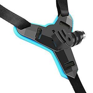 PQZATX Casque de Moto Menton CaméRa Stand RéGlable Casque de Moto Menton Support IntéGral Visage CaméRa Anti-DéRapante Accessoires pour HéRos
