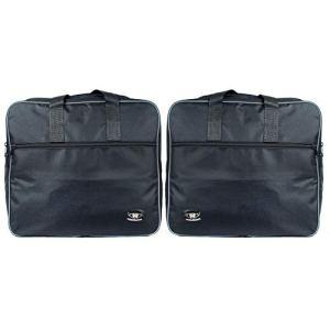 sacoches intérieures de sacoches pour les boîtes en aluminium aventure BMW R1200GSA, convient jusque 2015, passepoil réfléchissant, ouverture comme une valise