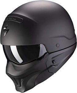 SCORPION Casque moto EXO-COMBAT EVO Matt Black, Noir, XL