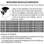 AKBOY Bicyclette VTT Casque Casques Motocross Casque Complet pour Hommes Noir Vert Casque de Moto Cross Adulte, Moto Enduro Course sur Route Casque avec Goggle Gants Masque pour Enfants Mâle,S
