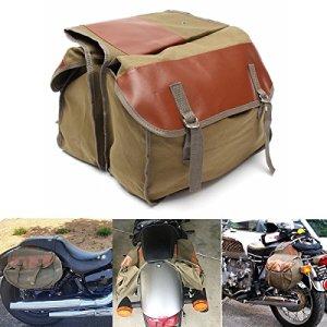 Alamor Moto Toile Sacoches Sac À Dos Équin pour Haley Sportster/Honda