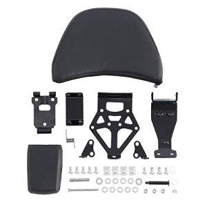 Beauneo Kit de Dossier de SièGe de Conducteur RéGlable pour Moto pour Goldwing GL1800 2001-2017 16 15 14 13