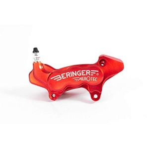 BERINGER Etrier de Frein axial Gauche Aerotec® 6 Pistons Ø27mm Rouge