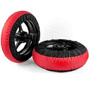 Chauffe-pneus de moto 120/70-17 et 180-200/55-17 jusqu'à 80 degrés