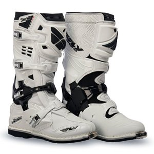 Fly Racing Bottes de Motocross Sector Blanc Taille 47