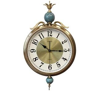 Horloge Murale Moderne Minimaliste Horloge, Matériel Alliage De Céramique, De 12 Pouces Ronde, Chambre, Salon, Salle À Manger, Horloge Pendre Bureau, Porche Horloge À Piles