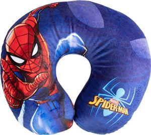 Marvel Spiderman Oreiller pour Cou de Voyage Cervical en Tissu Spiderman Homme araignée Super-héros Enfants