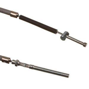 Motoflex SR4-4 Câble de frein arrière, filetage extérieur, gris, pour Simson SR4-2 Star, SR4-3 Sperber, SR4-4 Habicht