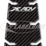Protection DE Porte DE RÉSERVOIR en RÉSINE ADHÉSIVE 3D Compatible Xadv Honda X-ADV
