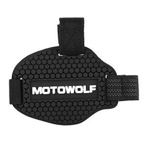 Protège Chaussure Moto Protection de Chaussure en Caoutchouc Housse de Chaussure de Moto pour Levier de Vitesses Anti-Abrasion Moto