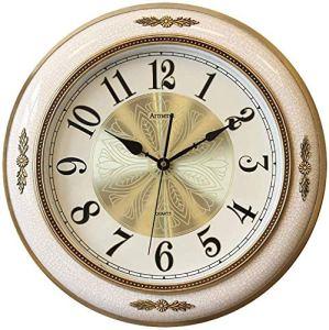 Vintage Horloge Murale, Unique En Céramique Accrocher Horloge Batterie Powered Mute Non Coutil Salon Parfait For La Cuisine Accueil Salon/Salle À Manger Ou Bureau Horloges Pour (Color : A)