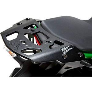 Bagages de rack noir. Kawasaki ER en aluminium 6N/F (de 12).