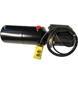 Bloc d'alimentation hydraulique compact 2kW, 6,5 l/min, 12 Volt, 160 bar, taille du réservoir sélectionnable, pour utilisation à simple effet Taille 12 Liter