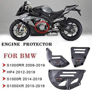 JIANXING Durable Moto S1000RR autoportée Capot décoratif Bouclier côté Protecteur B-M-W S 1000 RR S 1000R S 1000 XR 2015 HP4 2016 2017 2018 2019