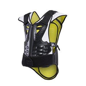 Jtoony Veste de Protection pour Moto Moto Racing Professional Équipement de Protection Équipement de Sport Sports de Plein air Vêtement Tout-Terrain incassable Armure Veste Armure Moto (Size : XL)