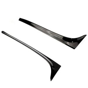 mmg MMGang Accessoires Spoilers for Volkswagen Golf 7 VW Mk7 ABS Noir Painted Aileron arrière Ailes Car Styling 2Pcs (Color : Black)