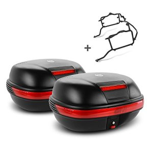 Paire de valises latérales Set Honda NC 700 X 12-13 Givi Monokey E460N noir
