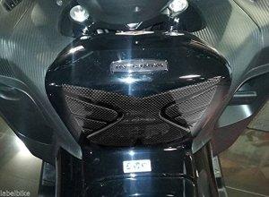 Protection DE Repose-Pieds en RÉSINE ADHÉSIVE Gel 3D Compatible avec Honda Integra 700-750