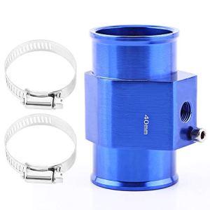 VGEBY Sonde Température De L'eau Tuyau Jauge Radiateur Durite Capteur Adapteur Tube Accord Bleu 26-40MM ( Taille : 40MM )