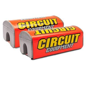 CIRCUIT HP011-011 Protège-guidon Rouge fluo