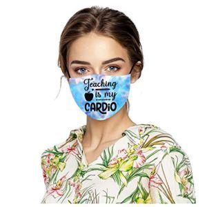 Europe Visage Wear Wankting Adulte Cool Garde Visage Visage Jour International des Enseignants Lavable en Machine et Réutilisable