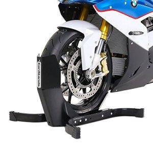 Interrupteur à bascule pour moto ConStands Easy Plus avant bascule Pince Roue avant Béquille Moto Support Moto Pelle Pelle Avant Park Support Support de transport