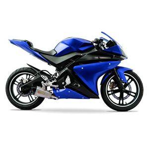 Jeu de carénage complet Yamaha YZF-R125 08-13 (20 pièces) bleu/noir