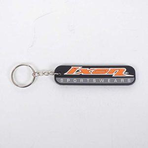 Porte clé moto Ixon Sports Wears de coloris noir, orange et gris Neuf