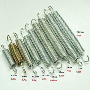 Ressorts de compression Trampoline en acier inoxydable Ressorts Saut lit d'écartèlement Spring Tensio for 6/8/10/12/13 // 15 / 16feet Ressorts de (Size : 17cm 6.6in)