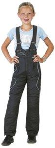 Roleff Racewear Pantalon Moto pour Enfants, Noir, S/128