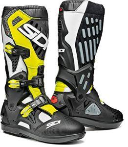 Sidi Atojo SRS Paire de chaussures Universel 42 BIANCO NERO GIALLO FLUO