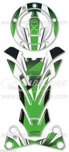ADHÉSIFS 3D gel PROTECTION compatible MOTO KAWASAKI Z750 Z1000 Z 750 z 1000