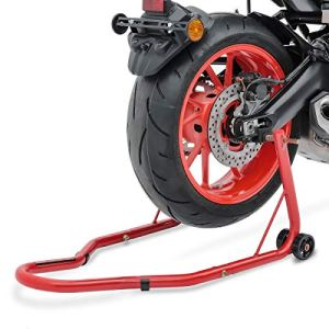 Béquille moto arriere ConStands Classic Universal rouge pour Yamaha XT 125 R/ X, XT 600 E, XT 660 R/ X/ Z Tenere, XTZ 660 Tenere, XTZ 750 Super Tenere, YZF 1000 R Thunderace, YZF 750 SP, YZF-R 125, YZF-R1, YZF-R6, YZF-R6 S