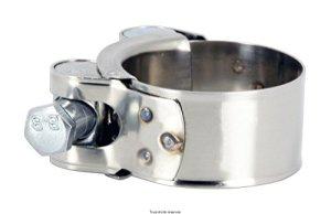 Collier de pot d échappement pour cc de a HC5559 etat Neuf Collier manchon echappement à vis 55 à 59 mm