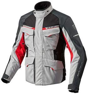 FJT208 – 4020-L – Rev It Outback 2 Motorcycle Jacket L Silver Red