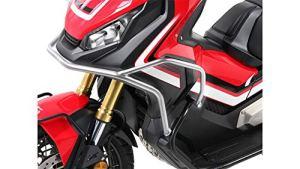 Motorize-HEPCO & Becker Arceau de Protection Avant pour Honda X-ADV (2017), argenté, pour Utilisation à l'école