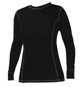 Roleff Racewear Sous-Vêtements Fonctionnels T-shirt pour Femmes, Noir, LXL