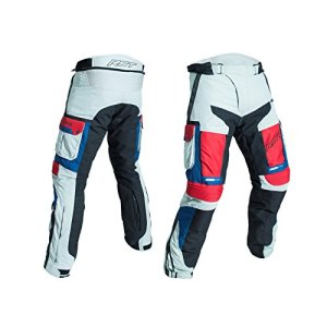 RST Trousers Pro Series Adventure III CE, Ice/Bleu/Rouge, Taille 34