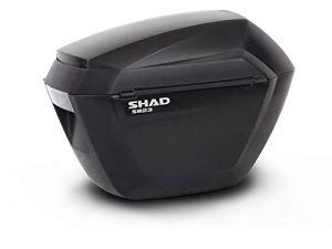 SHAD D0B23100 Valise SH23, Noir Brut